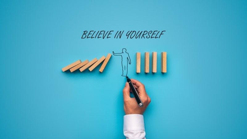 tự tin vào bản thân