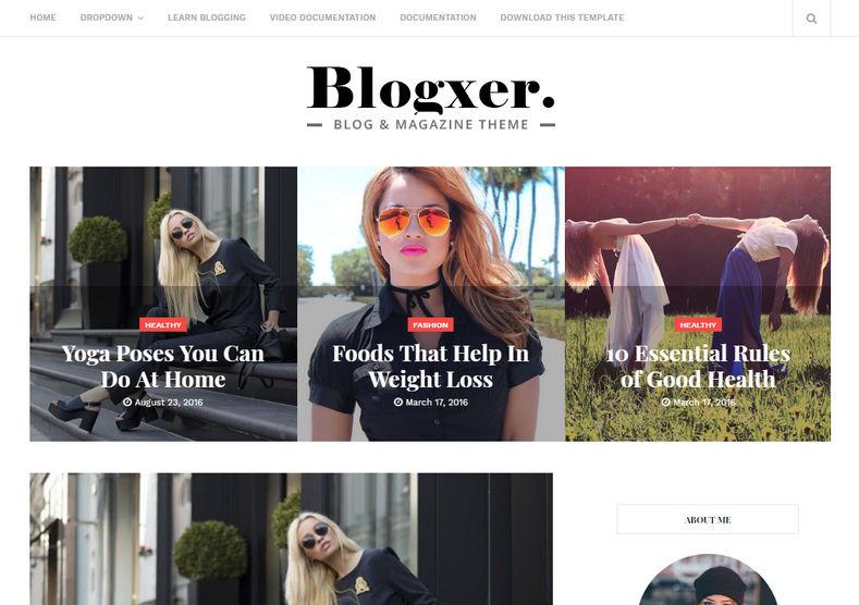 share template blogspot cá nhân