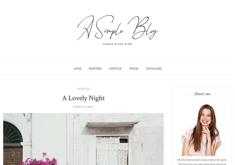 share template blogspot