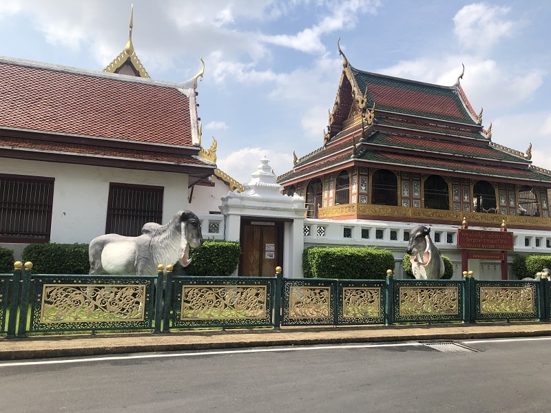 wat saket pagoda